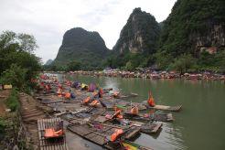 Floßfahrt auf dem Li-Fluss